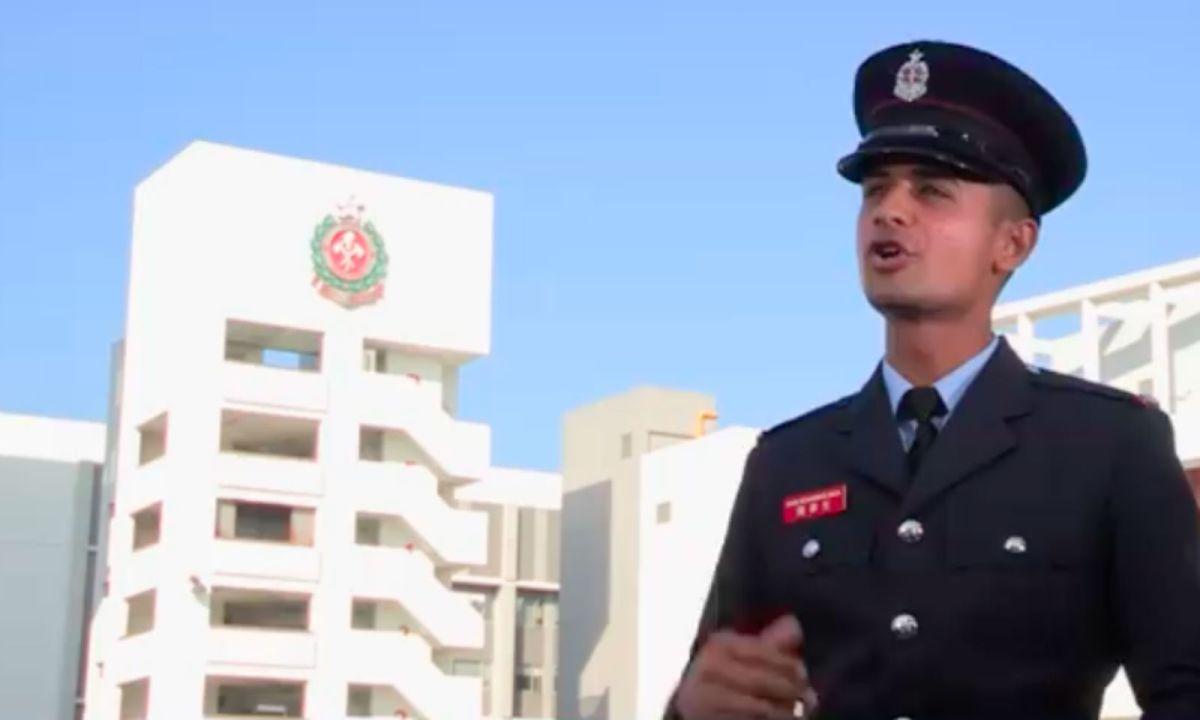 Mohammad Raza. Photo: Facebook, HK Fire Service Department