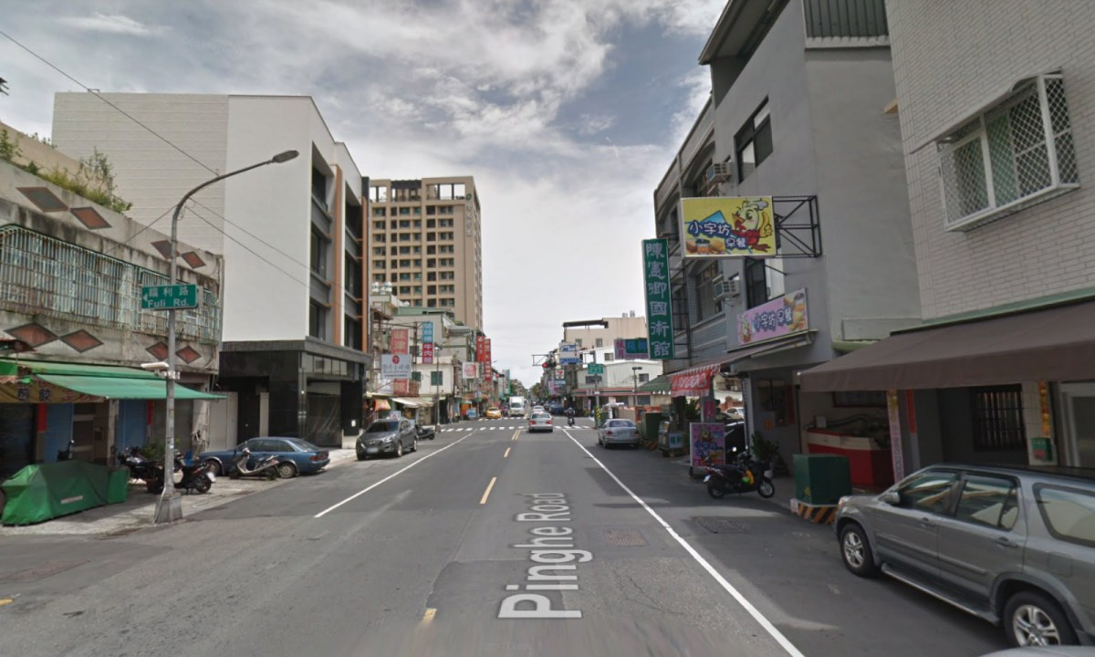 Pinghe Road of Xiaogang District in Kaohsiung City, Taiwan. Photo: Google Maps