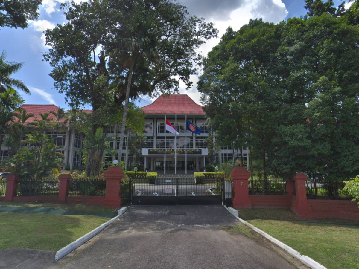 The Indonesian Embassy in Singapore. Photo: Google Maps