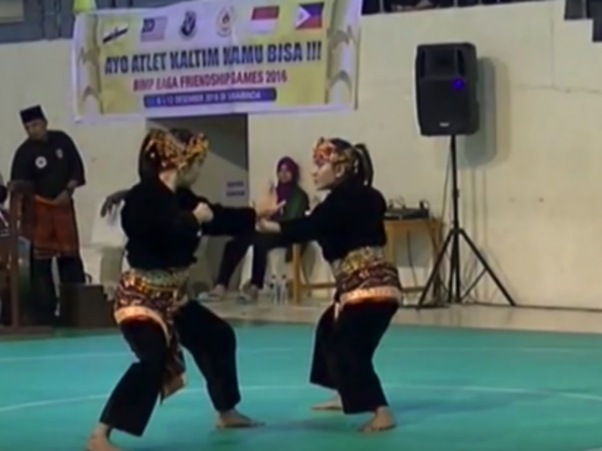 A martial arts contest at the BIMPNT-EAGA Friendship Games. Photo: Youtube.