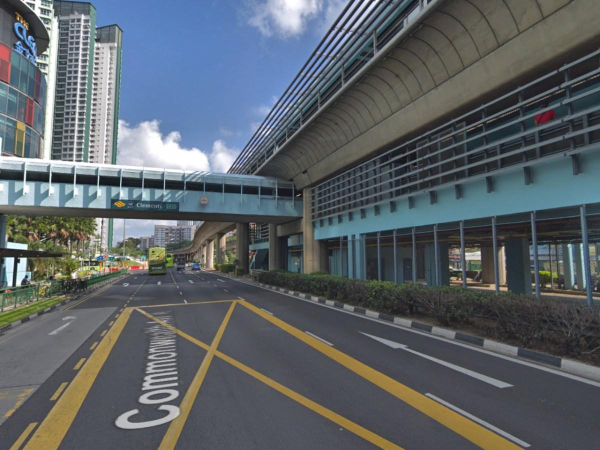 Clementi MRT station, Singapore. Photo: Google Maps