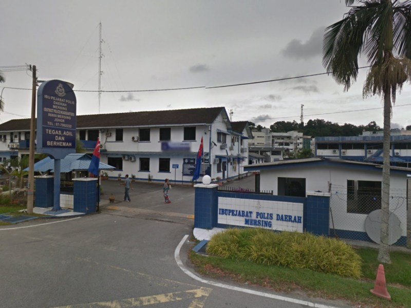 Mersing police headquarters in Johor, Malaysia. Photo: Google Maps