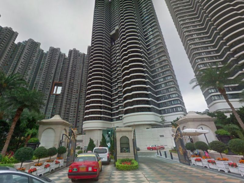 Residence Bel-Air, Cyberport, Hong Kong Island Photo: Google Maps