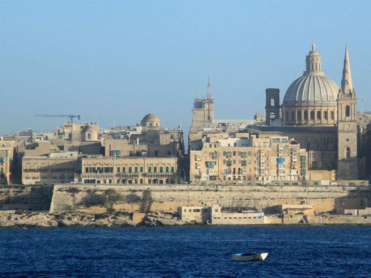 Valletta, capital of Malta. Photo: Wikimedia Commons