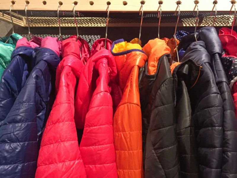 Down jackets Photo: iStock