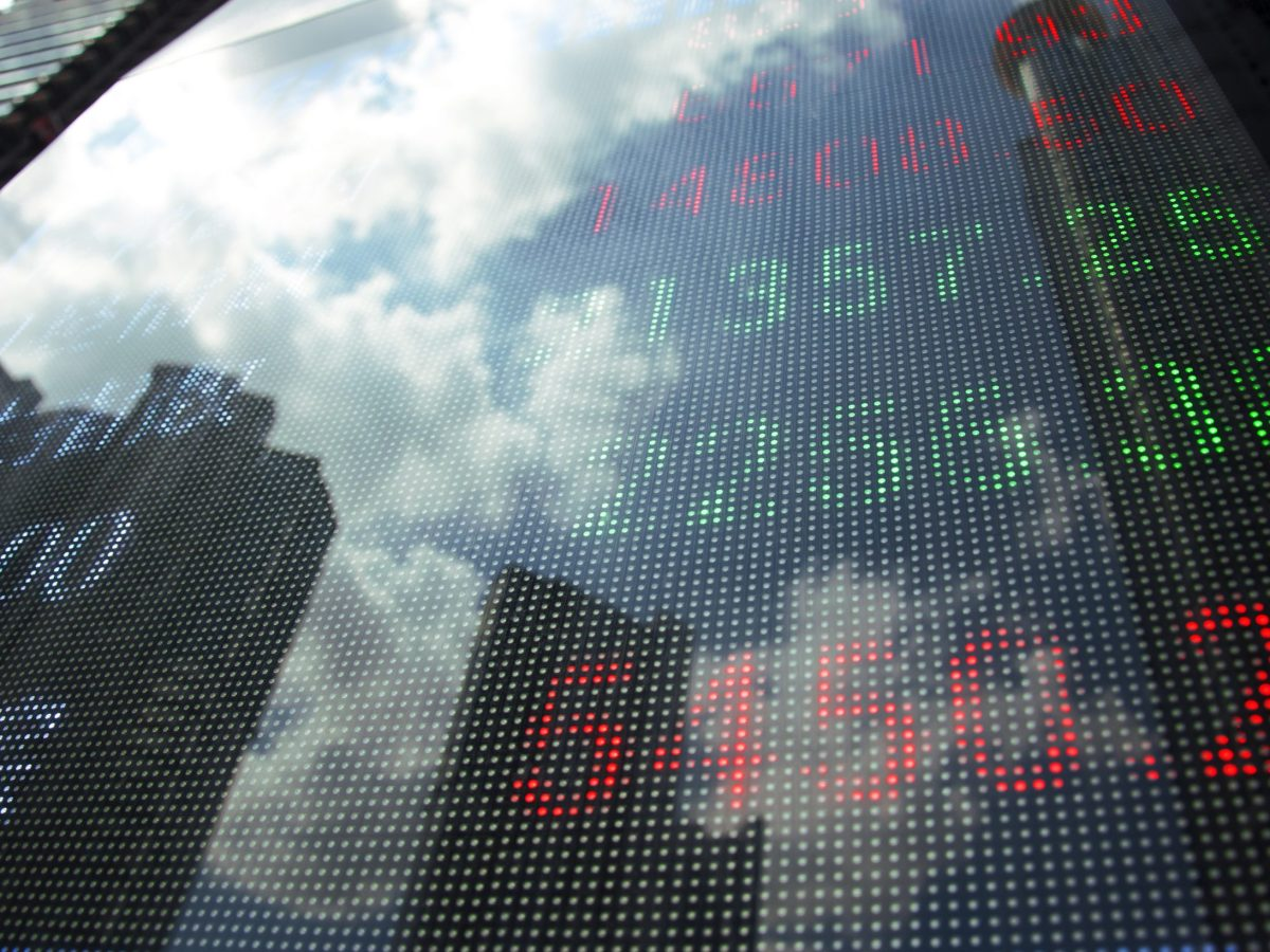 A display of Stock market quotes. Photo: iStock