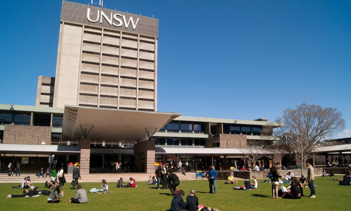 The University of New South Wales in Australia. Photo: iStock.