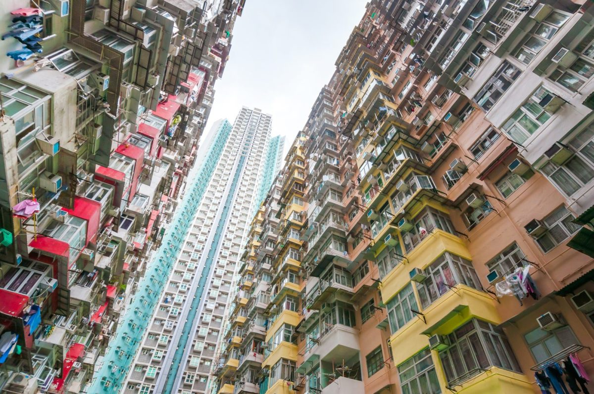 Dense residential buildings in Hong Kong. Photo: iStock