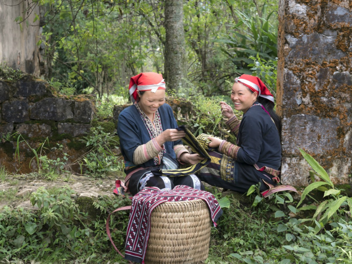 Embroidery is a big part of the Dao women's livelihoods. Photo: iStock