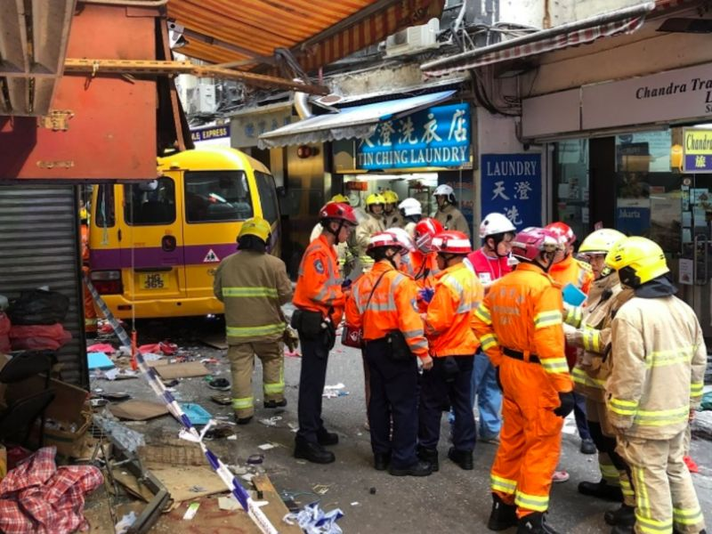 North Point in Hong Kong where the accident happened. Photo: RTHK