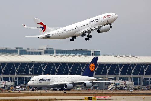 Shanghai's Pudong airport. Photo: Xinhua