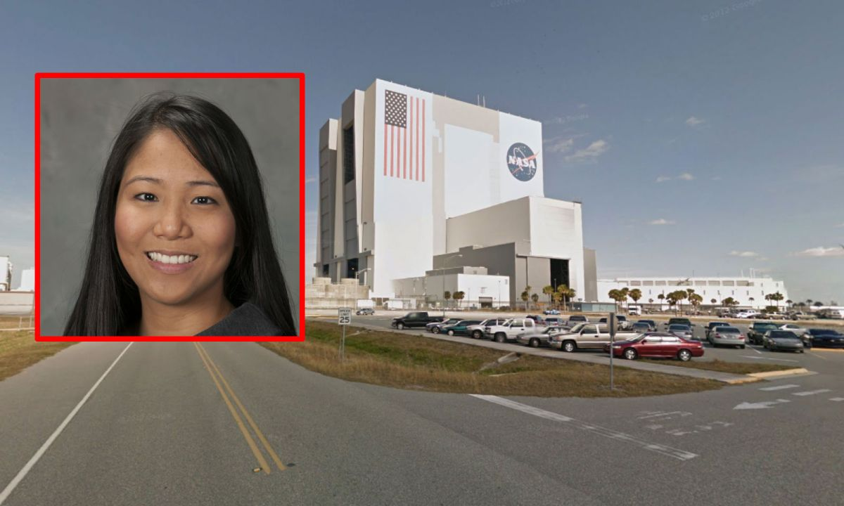 Filipino engineer Josephine Santiago-Bond works as a department head at the John F. Kennedy Space Center in Florida. Photo: Google Maps, NASA