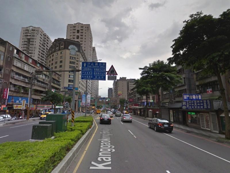 Xizhi district of New Taipei City, Taiwan. Photo: Google Maps