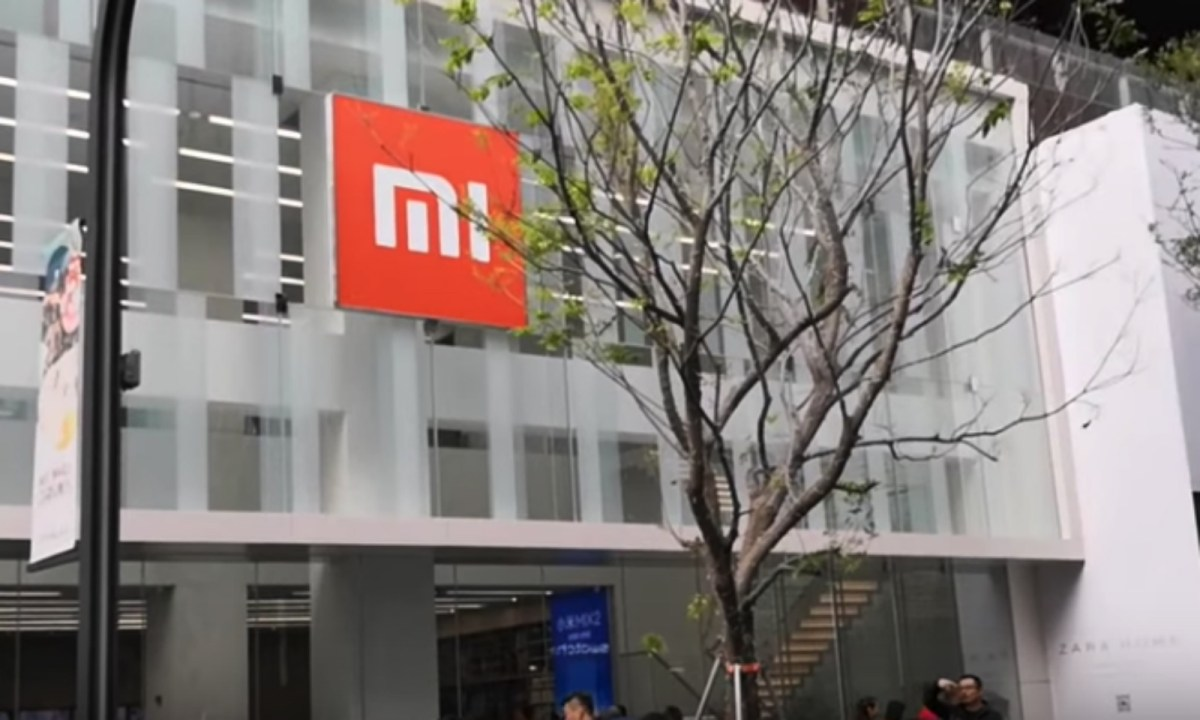 Xiaomi's flagship store in Shenzhen, Guangdong province. Photo: YouTube