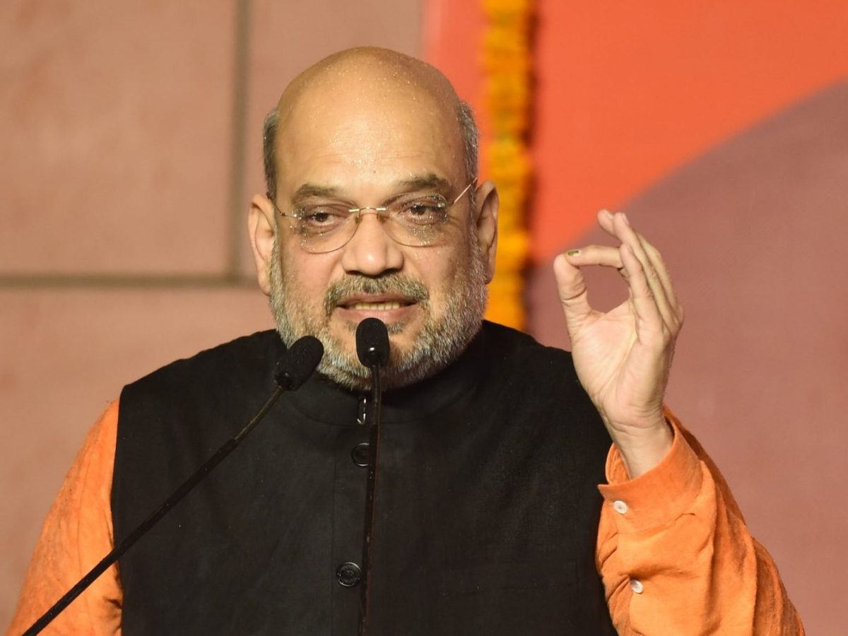 Newly appointed Home Minister Amit Shah
