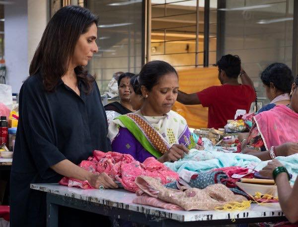 Designer Anita Dongre Embraces Climate Of Change Asia Times