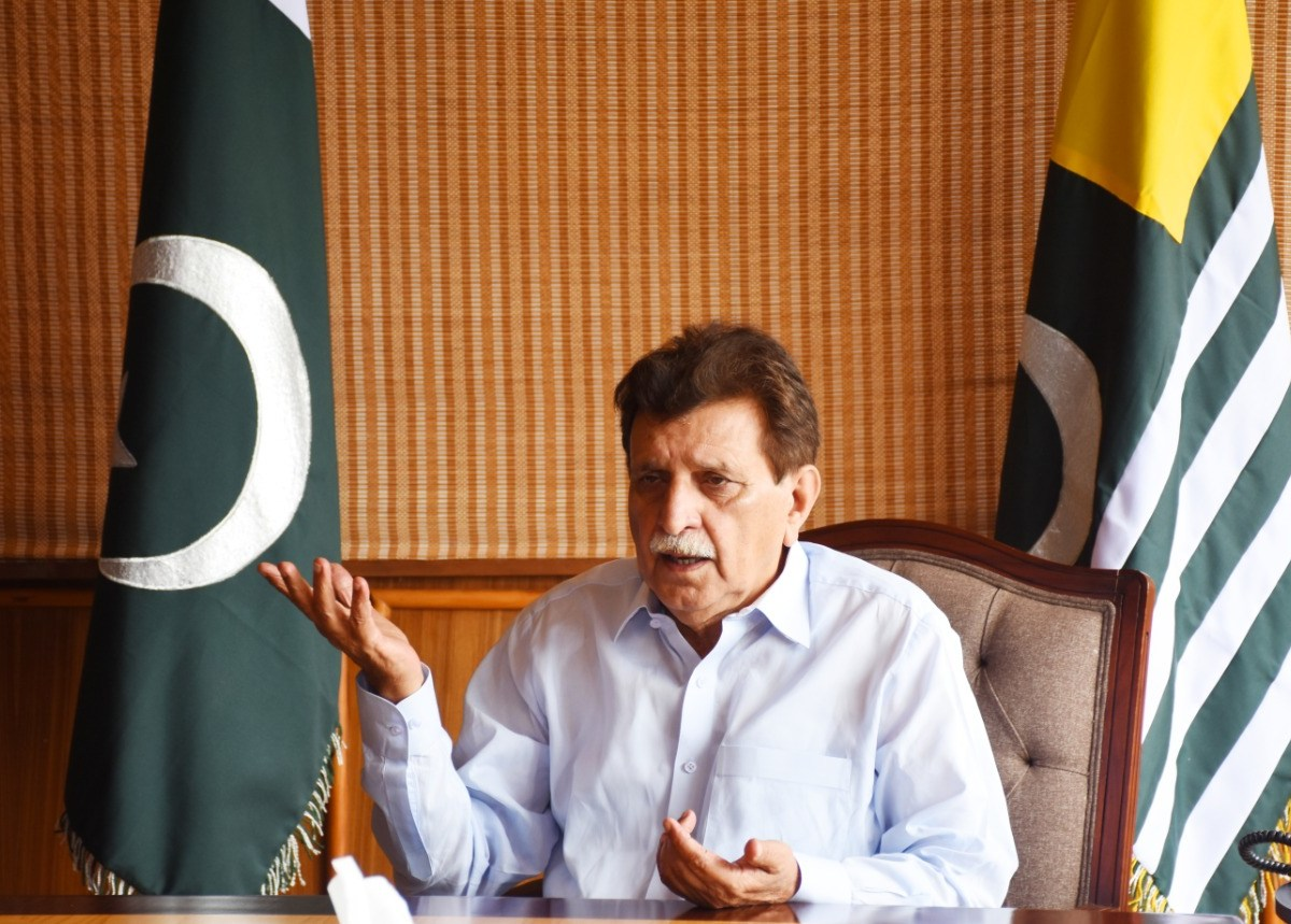 Farooq Haider Khan exclusive picture for Asia Times