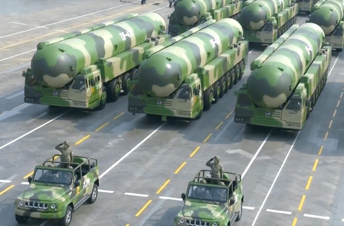 China's growing nuclear strength worries the Pentagon