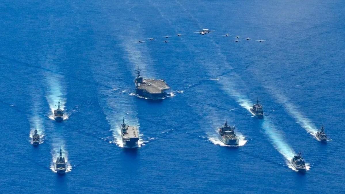 US-led coalition encircling China's sea ambitions