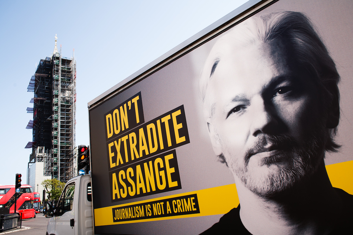 Empire's mask slips at Julian Assange trial