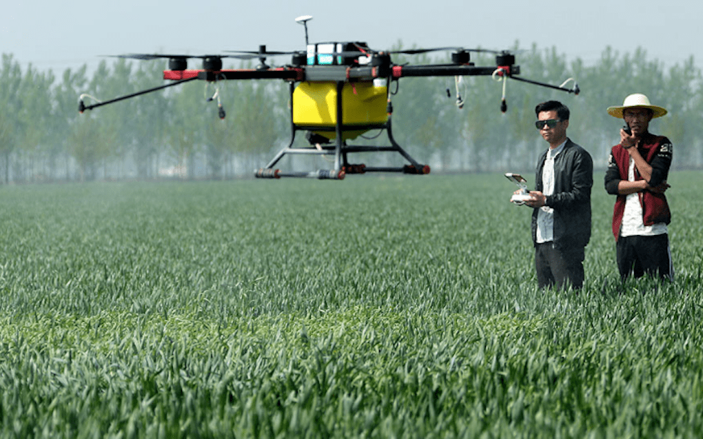 China experiencing a drone 'revolution' in agriculture