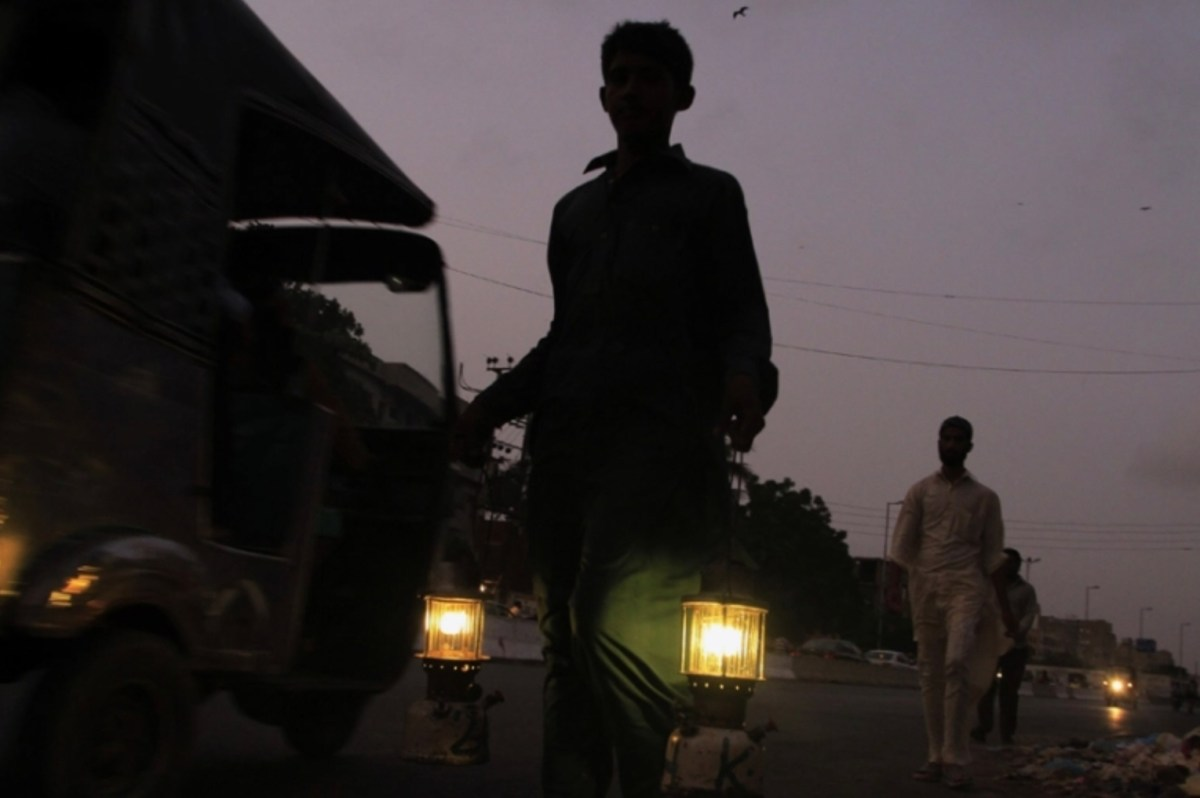China's role in knocking the lights off in Pakistan