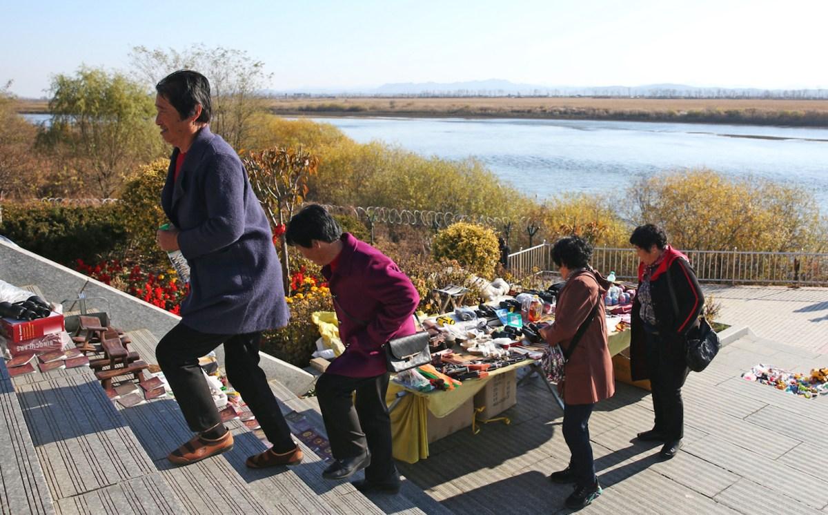Signs indicate North Korea-China trade resumption