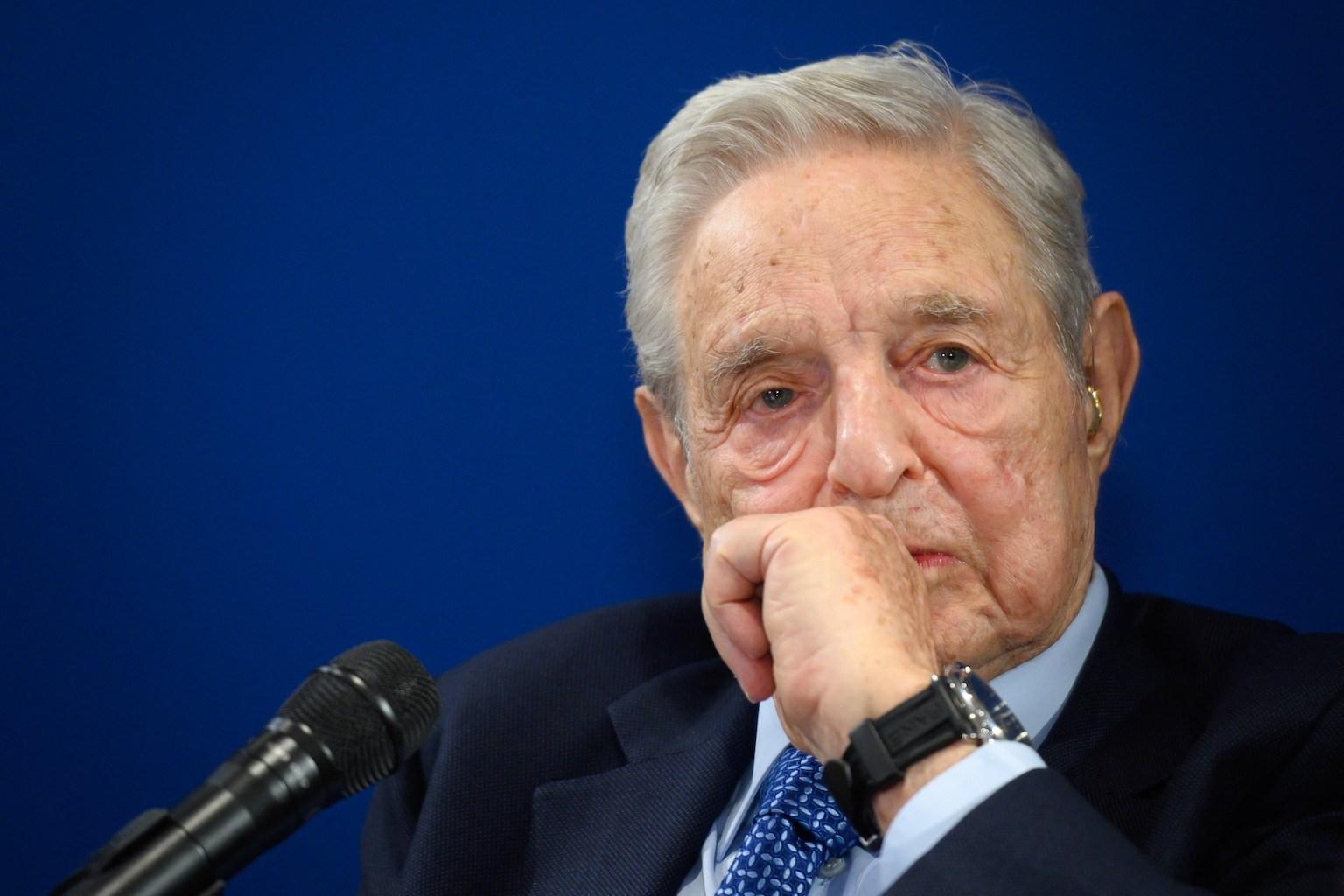 """Chinesische Staatsmedien bezeichnen George Soros als """"Terroristen"""
