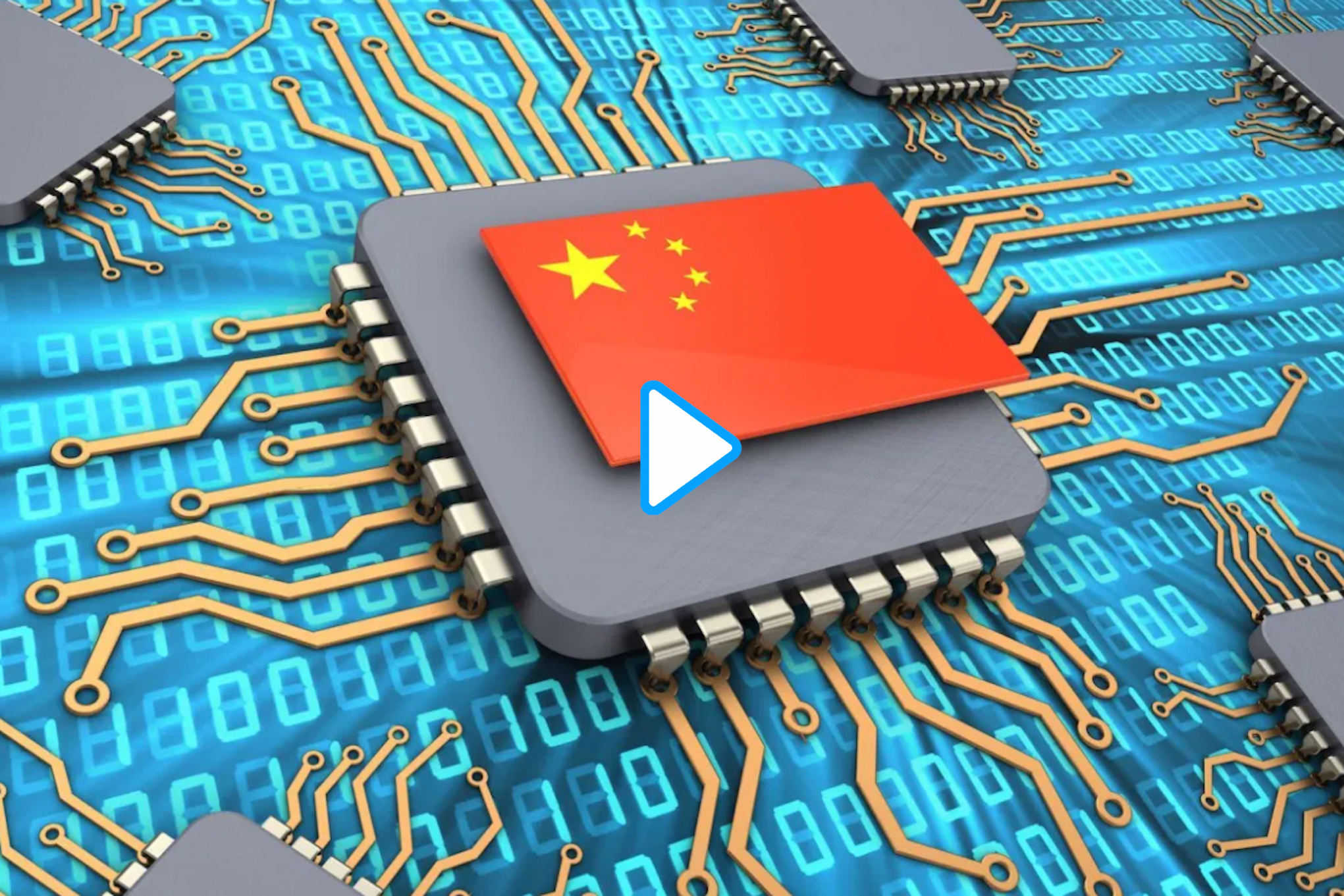 Mainland tech rallies while Hong Kong wilts