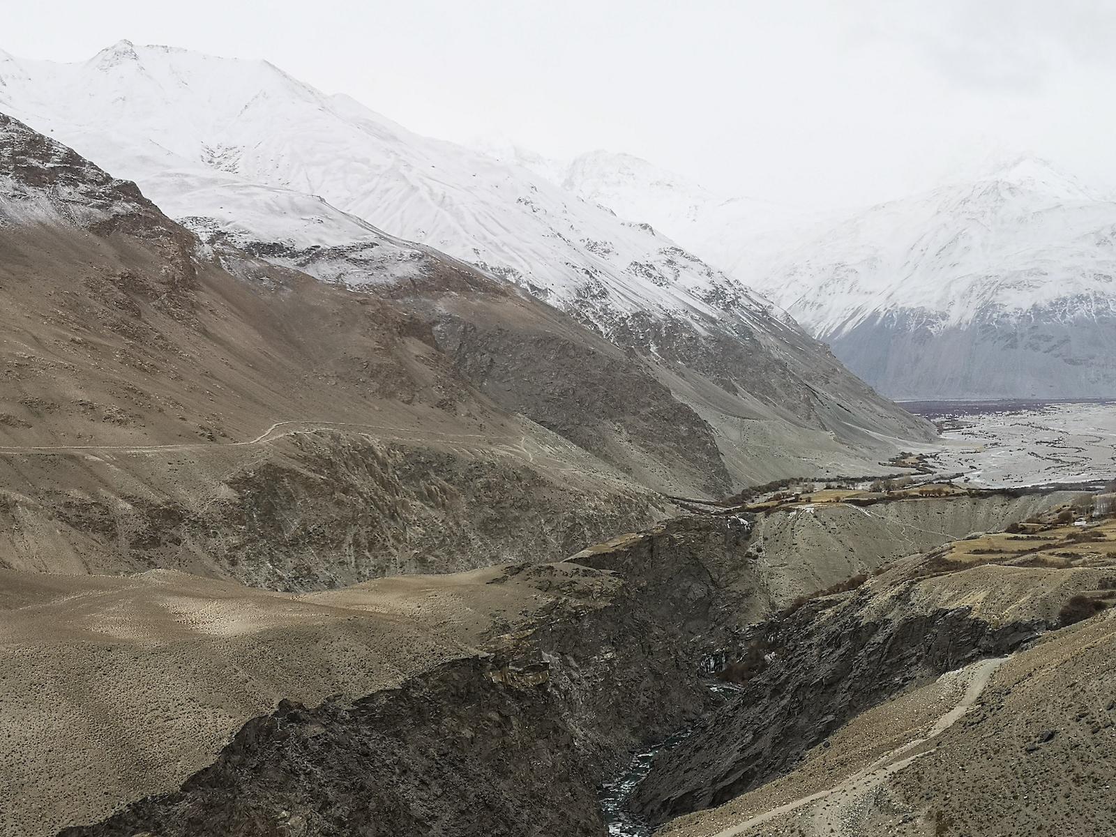 The Wakhan corridor in Afghanistan, seen from the Tajik side. Photo: Pepe Escobar, November 2019