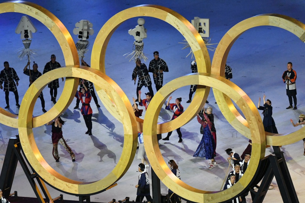 Welcome to Tokyo's five-ring Olympic circus
