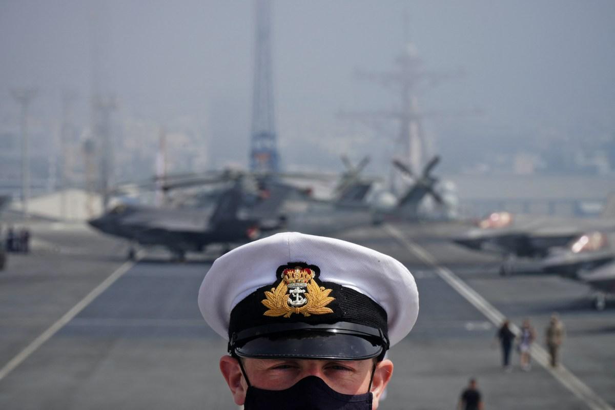 Royal Navy defies China en route to South China Sea