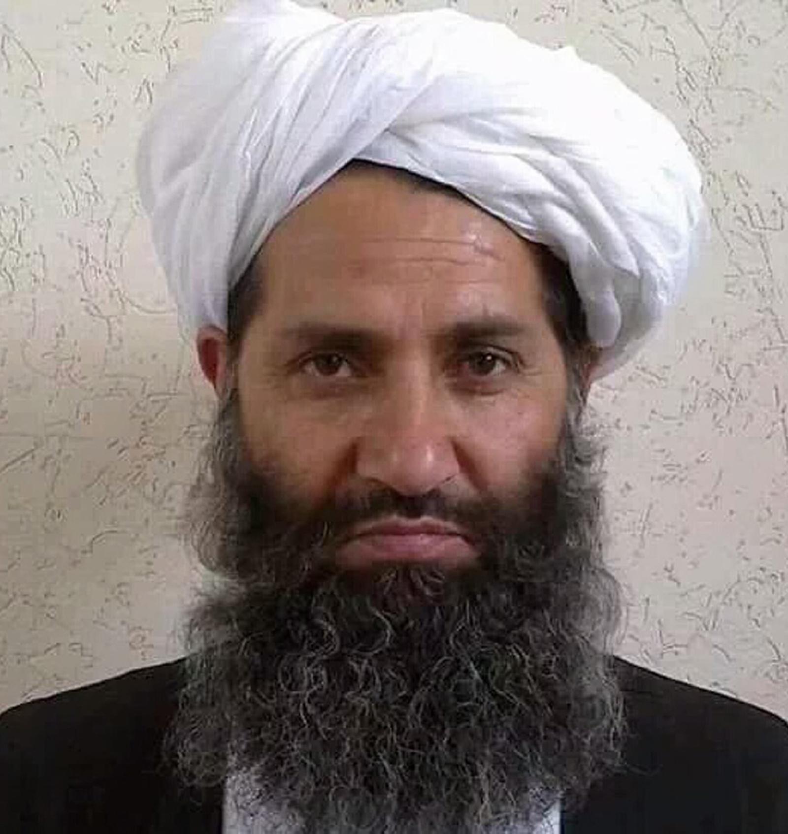Mullah Haibatullah Akhundzada posing for a photograph at an undisclosed location in 2016. Photo: Afghan Taliban via AFP