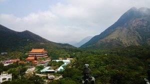 What To See In Hong Kong - Po Lin Monastery from afar