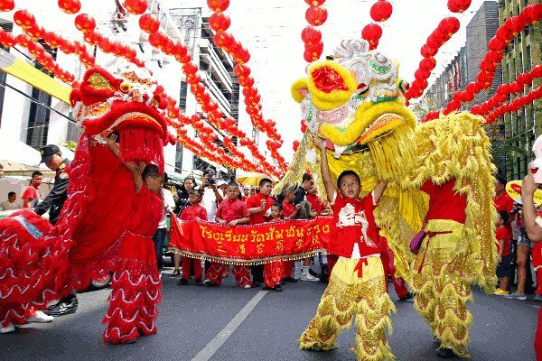 Best Places to Visit in Asia - Lion Dance during Chinese New Year Celebrations
