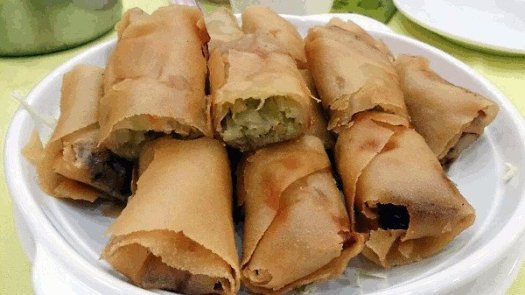 Good Food In Hong Kong - Spring Rolls