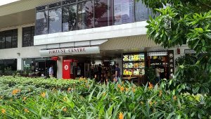 Best Places To Eat In Singapore - Front of Fortune Centre facing main road