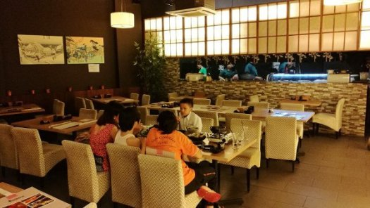 Best Places To Eat In Kuala Lumpur - Kinjuku SetiaWalk Mall Review - More Dining Area 2