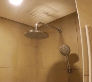 Hotel has Rain Shower! Love this!