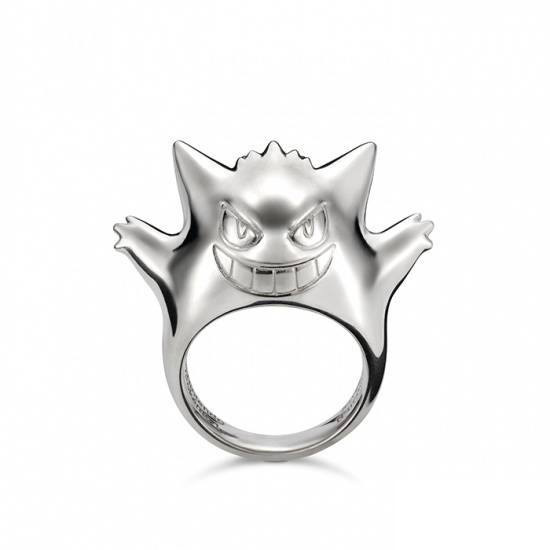 The Gengar Ring, made of silver. This ring retails for 22,000 yen ($218.73 US) including tax.