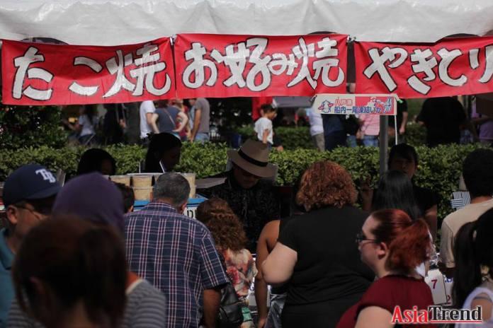 Authentic Japanese food vendor