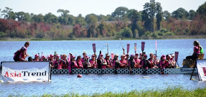GWN In the Pink Dragon Boat