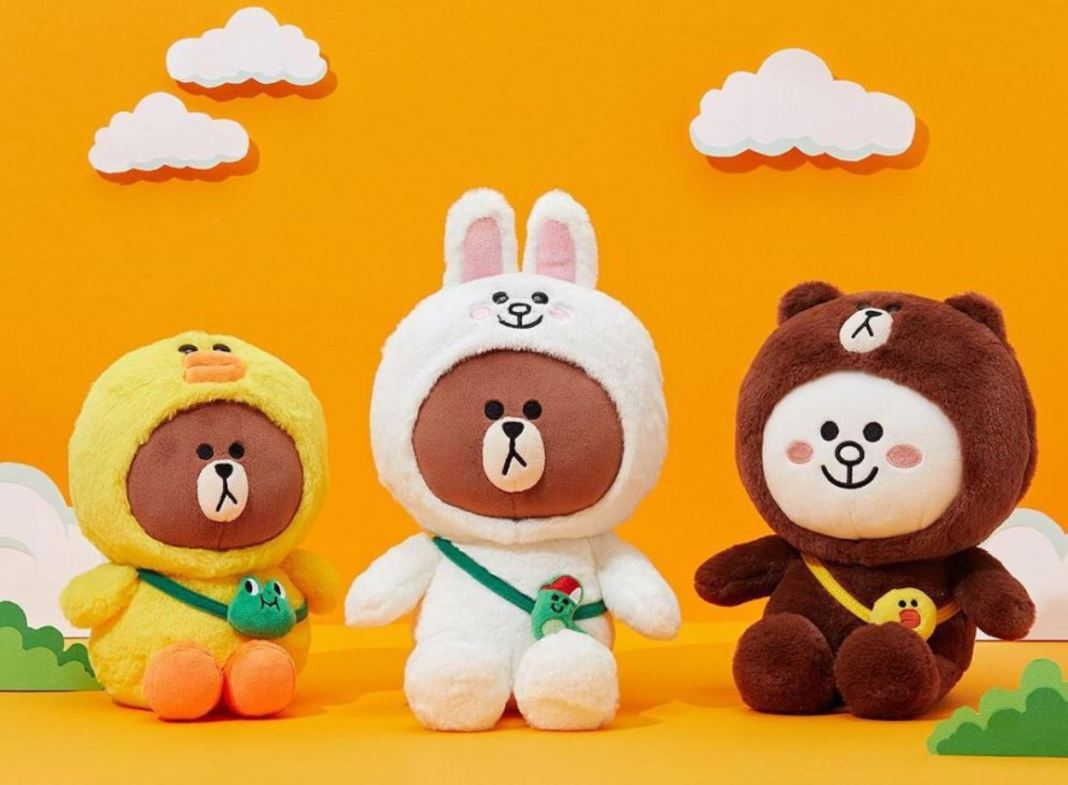 LINE FRIENDS MIX and MATCH!
