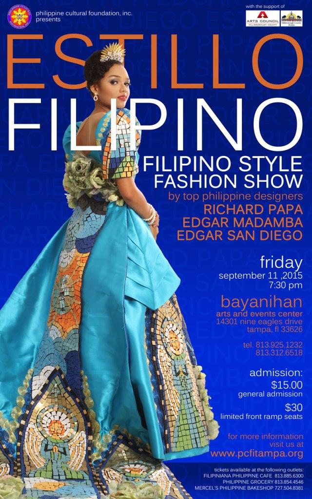 Estillo Filipino 2015: Philippine Style Fashion Show