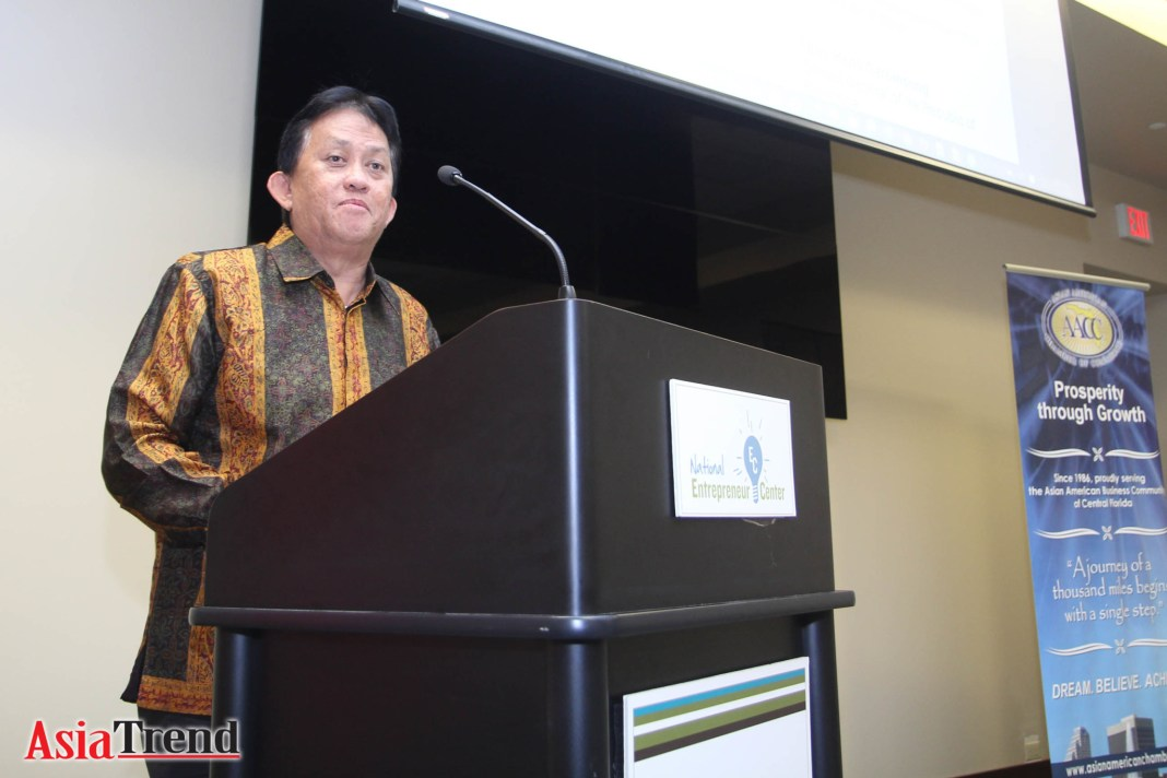 Keynote Speaker Henk Saroinsong - Consulate General of the Republic of Indonesia