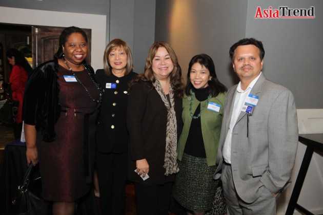 Dr Bridget Lee, Coco Johnston, Marisol Romany, Kathy Llamas, and Kannan Srinivasan