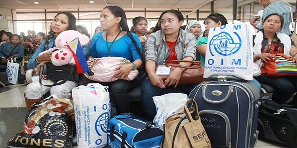 Pullout of OFWs Makes Creation of Command Center Urgent, Compelling
