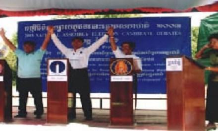 DEMOCRACY STUMBLES IN CAMBODIA