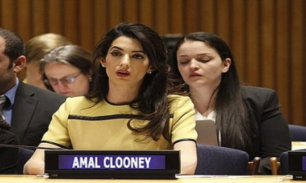 DO TWO REUTERS REPORTERS NEED CLOONEY?