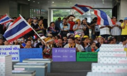 THAILAND-ELECTION IMPEDED